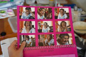 calendar featuring Baba Nila