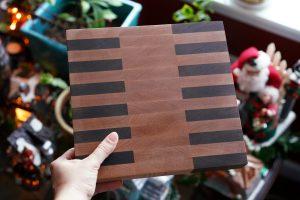 end-gran cutting board